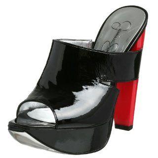 Jessica Simpson Womens Grace Slide,Black,5 M US Shoes