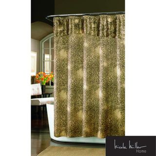 Nicole Miller Wild At Heart Shower Curtain