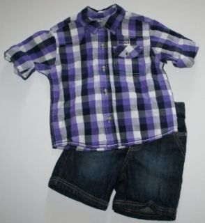 Kenneth Cole Reaction Baby Boys Shirt and Jean Set (18