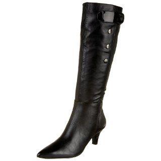 Tahari Womens Madden Tall Boot,Black,5 M US Shoes