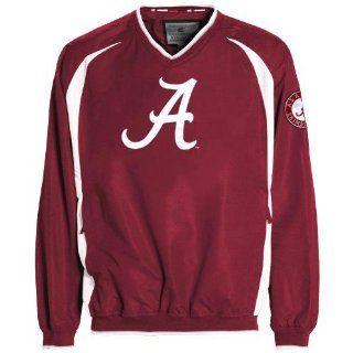 NCAA Alabama Crimson Tide Crimson Hardball Pullover Jacket