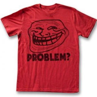 You Mad T Shirt U Troll Face Problem Adult Red Tee Shirt