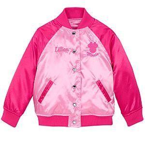 Disney Minnie Mouse Varsity Jacket for Girls Clothing