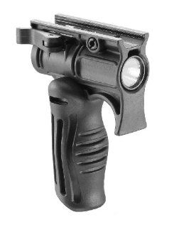 Mako Tactical Folding Grips with 1 Inch Tactical Light