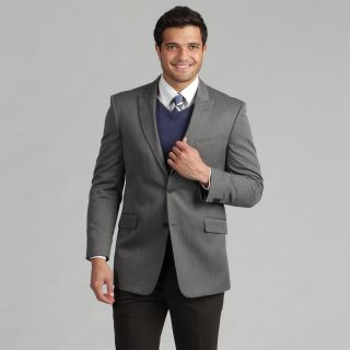 Marc Ecko Mens Trim Fit Grey Suit Jacket Today $109.99