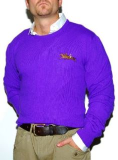 Polo Ralph Lauren Mens Purple Label Cashmere Sweater Large