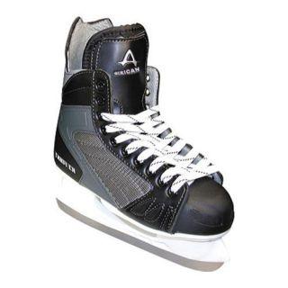 Mens American 468 Ice Force Hockey Skate Black