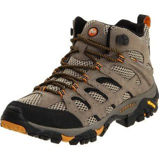 Merrell Mens Moab Mid Gore Tex Waterproof Boot Shoes