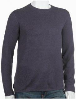 Prada Mens Cashmere Crew Neck Sweater, Purple, Size 54