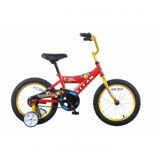 Titan Champion 16 inch Red/ Gold Boys BMX Bike Today $99.99