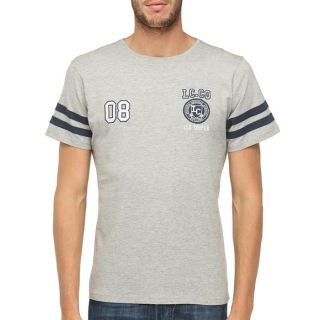 LEE COOPER T Shirt Homme Gris chiné   Achat / Vente T SHIRT LEE