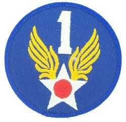 1st Air Force Small Patch Clothing
