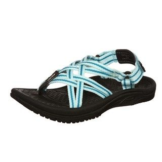 Kalso Earth Womens Cozumel Blue Sandals FINAL SALE