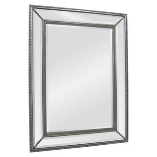 Ren Wil Silver Angle Beveled Mirror