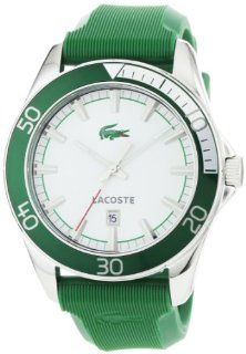 Lacoste Sport Navigator Green Rubber Mens Watch 2010550 Watches