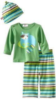 Zutano Unisex Baby Infant Raccoon Long Sleeve Screen Hat