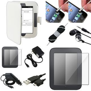 Case/ Protectors/ Cable/ Charger for Barnes and Noble Nook 2nd Edition
