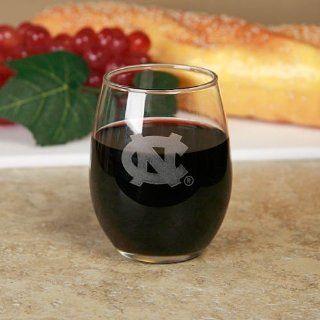 NCAA North Carolina Tar Heels (UNC) 9oz. Wine Glass