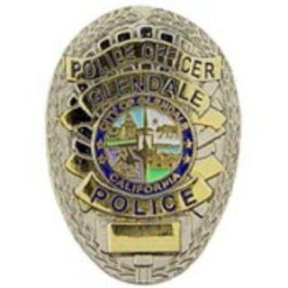 Glendale California Police Officer Badge Pin 1 Sports