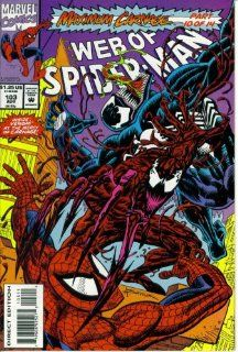 Web of Spider Man #103  Sin City (Maximum Carnage   Marvel Comics