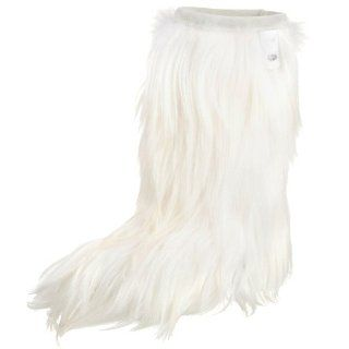 Tecnica Womens Yaghi Fur Cold Weather Fashion Boot,White,5.5 M Shoes