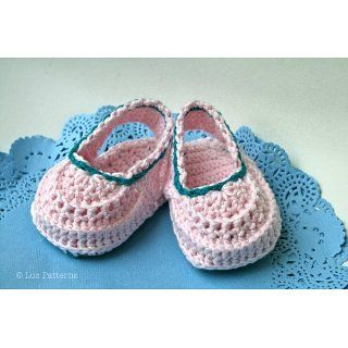 , crochet baby shoes (104) Luz Mendoza Kindle Store