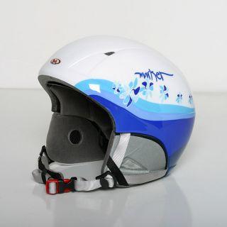 Marker Talent Series Junior 56/ 59 cm Light Blue Flowers Ski Helmet