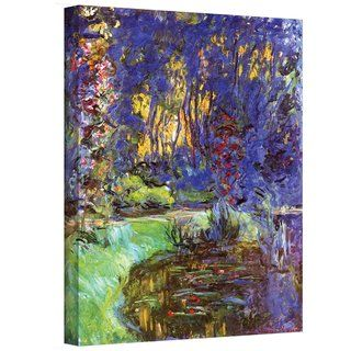 Claude Monet Giverny Gallery Wrapped Canvas