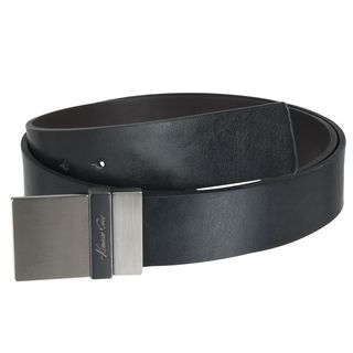 Kenneth Cole Mens Reversible Square Buckle Leather Belt