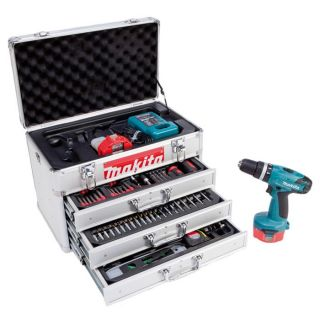PERCEUSE   VISSEUSE MAKITA Perceuse visseuse percussion 14.4V 2 batt