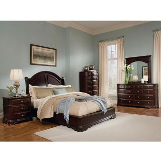 Dupioni 5 piece Queen Bedroom Set