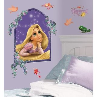 Tangled Rapunzel Peel & Stick Giant Wall Decal