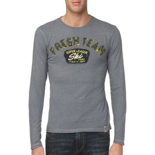 FRESH BRAND T Shirt Homme Anthracite   Achat / Vente T SHIRT FRESH