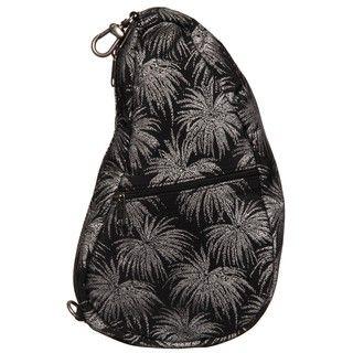 Ameribag Silver Palm Large Baglett Sling Bag