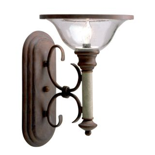 Old Brick Wall Sconce