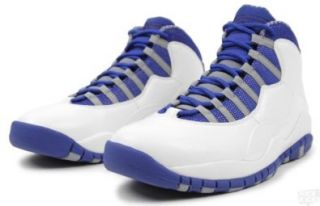Basketball Shoes White/Old Royal/Stealth 487214 107 (9.5 M) Shoes