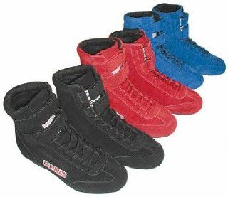 Blue Size 110 High Tops Racing Shoes    Automotive