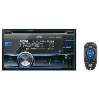 JVC KW SD70BTE   Autoradio CD double DIN iPod/iPhone Bluetooth   Port