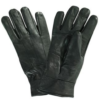 Bond Womens Insulated Black Leather Gloves