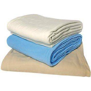 Fleece Blanket   King Size   108 x 90   Tan: Everything Else
