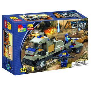 Fun Blocks Special Forces Military Brick Set B (232 pieces