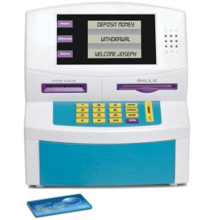Blue Hat Fun 2 Save Electronic ATM Bank
