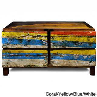 Ecologica Four Drawer Reclaimed Wood Dresser