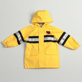 Carters Boys Yellow Fireman Rain Jacket