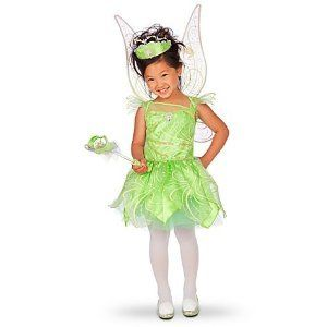 Disney Tinkerbell Fairy costume Medium M [ 7 / 8 ] Glows