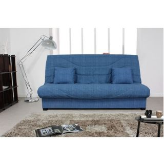 Clic clac Hélion bleu Couchage 130x190 cm   Achat / Vente BZ   CLIC