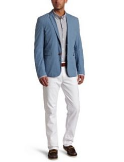 Ben Sherman Mens Plectrum Gingham Blazer Clothing