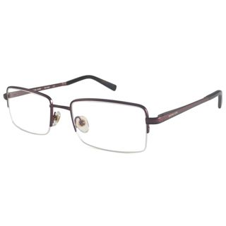 Michael Kors Readers Mens MK159M Brown Rectangular Reading Glasses