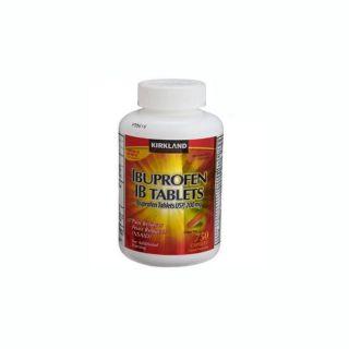 Kirkland Signature 750 ct Ibuprofen IB Caplets