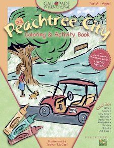 Peachtree City Coloring Book Carole Marsh 9780635061966